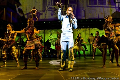 FELA! on Broadway, ©Monique Carboni